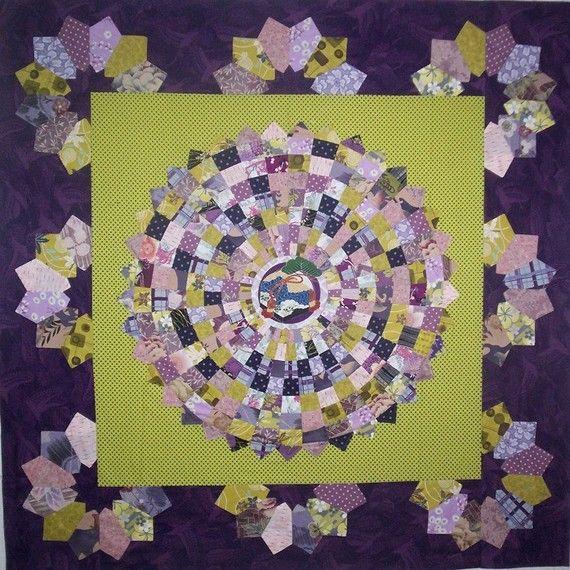 friendship circle quilt pattern patchworkfun etsy