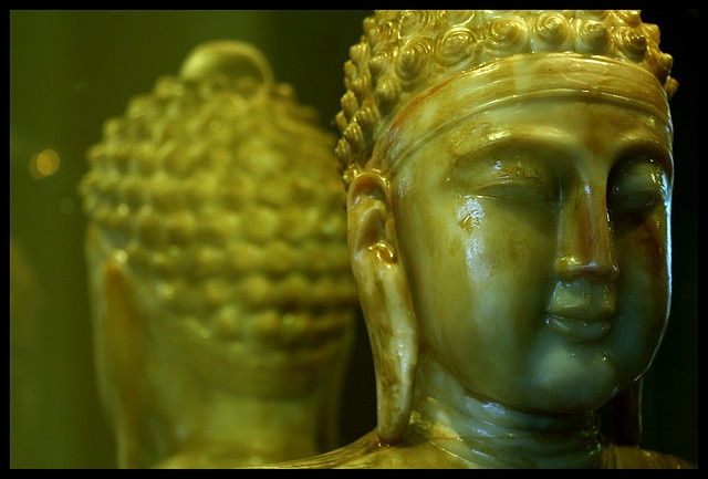 Buddha figure at NanTien Temple, NSW Australia