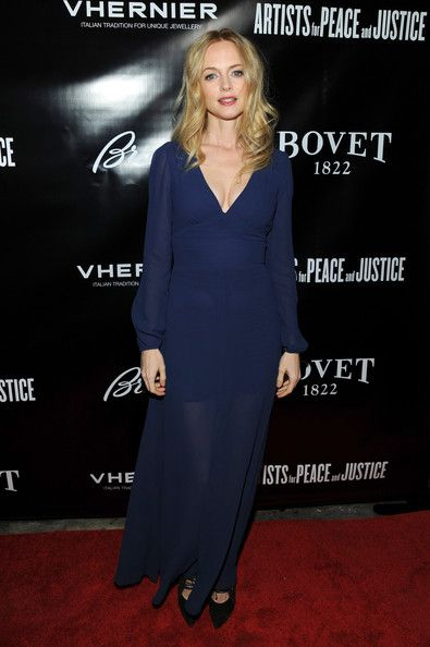 Heather Graham Photos: Artists For Peace And Justice 2013 Holiday Benefit