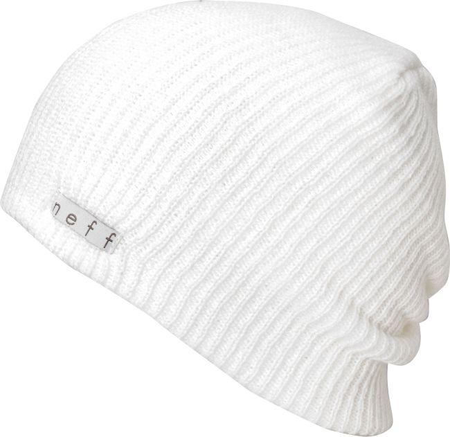White Neff beanie