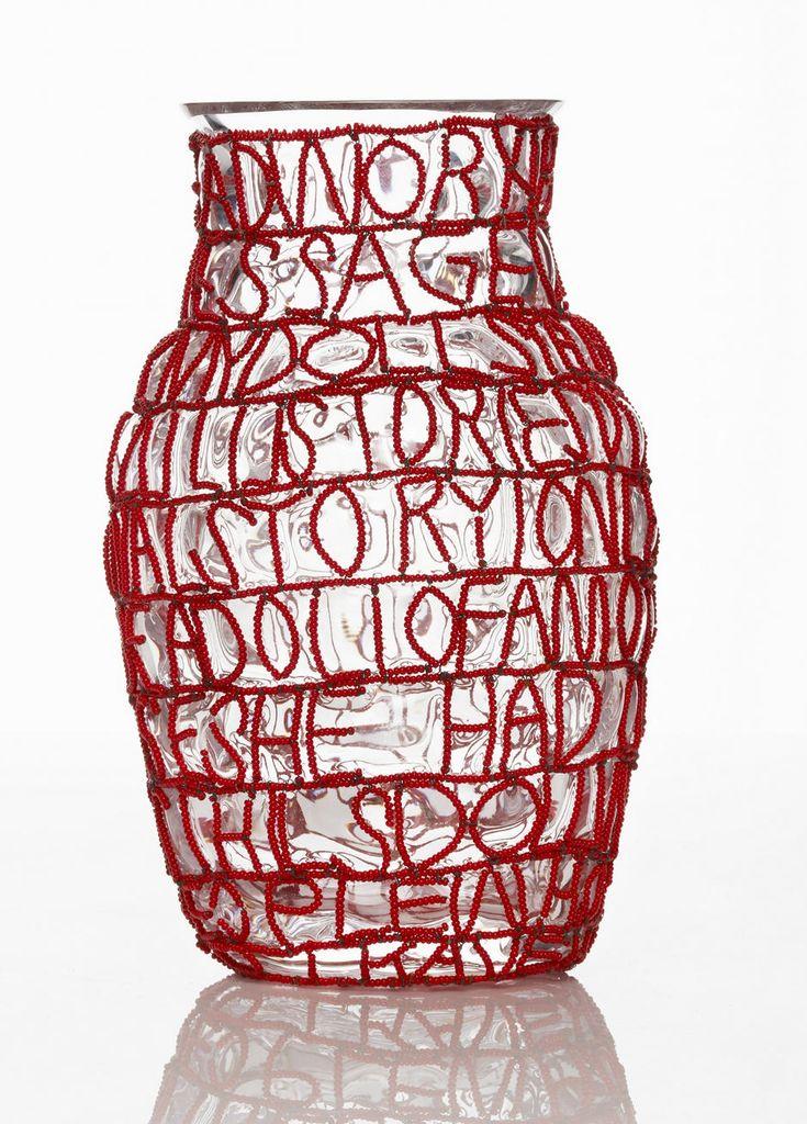 Дизайнеры бюро Front и мастерицы Siyazama Project создали вазы «с историей» :: Архилента