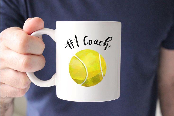 Tennis Coach Mug, Number 1 coach, Best Coach, Tennis Mug, Coach Gift, Gift for Coach, Thank you Gift, Coffee Mug, Cup, Tea, Birthday, Tennis by SweetMintHandmade on Etsy https://www.etsy.com/listing/564461508/tennis-coach-mug-number-1-coach-best