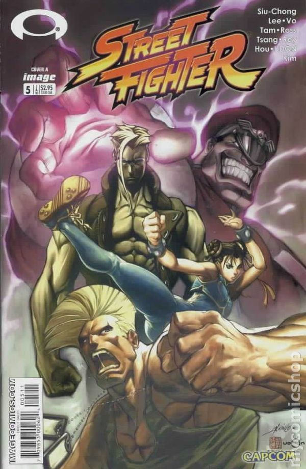 Street Fighter (2003 Image) 5A Image Comics book covers Modern Age