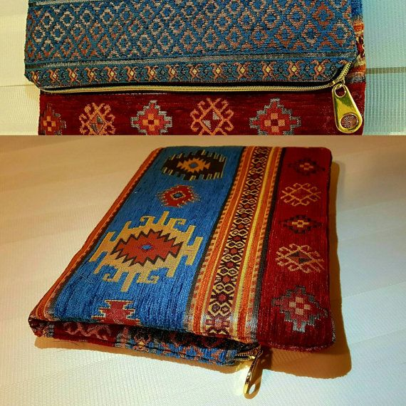 Check out this item in my Etsy shop https://www.etsy.com/listing/479530628/handmade-red-blue-large-foldover-clutch