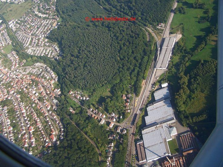 Ettlingen, Germany | Luftbild vom Ettlingens Ausgang ins Albtal
