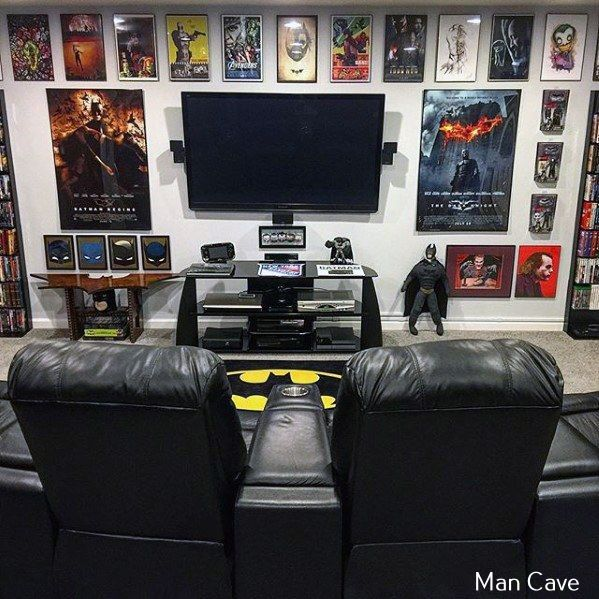 Turning Your Basement Into The Ultimate Man Cave Can Be Fun Video Game Rooms Attic Game Room Man Cave Design