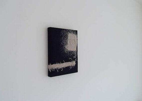 Japanese modern art ..Sun rises.. Original Textile by RUCNIduha