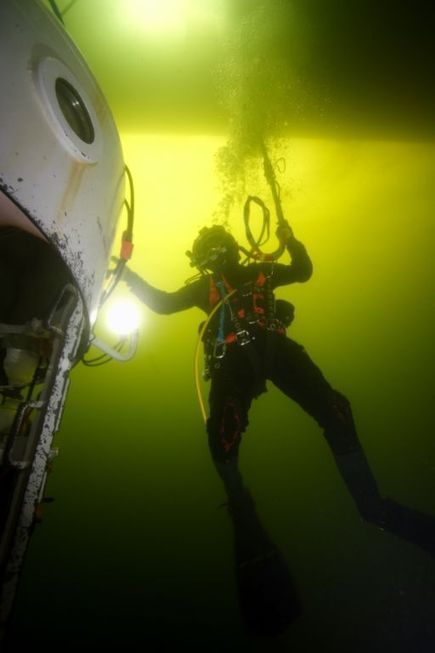 Advice from a commercial diver