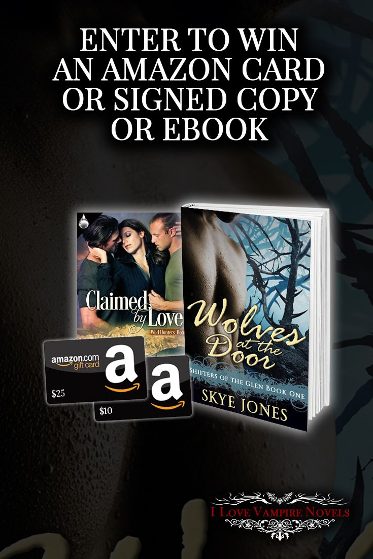 Win up to $35 in Amazon Gift Cards, eBooks or a Signed Paperback from Author Skye Jones  Sept 27th