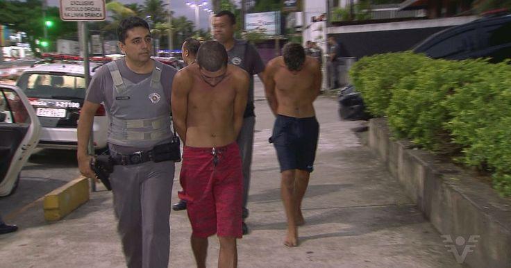Carro do Uber é usado por quadrilha em assalto a mulheres no litoral de SP