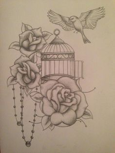 1000 ideas about bird cage tattoos on pinterest cage for Tattoos near me open late