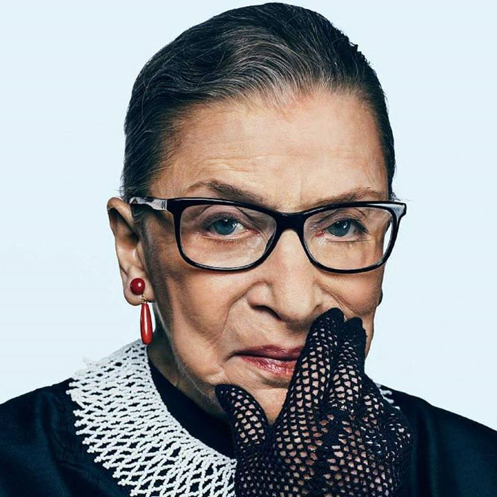 Ruth Bader Ginsburg: My mother told me to be a lady. And for her that meant be your own person be independent. #mymother #RuthBaderGinsburg