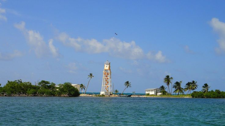 Mauger Caye Light is an active lighthouse on the atoll island of Mauger Caye, the most northerly in the Turneffe Cays archipelago, which lies 30 km east of the coast of Belize. It is one of a number of lighthouses, which have been built on the cays in the coastal waters of Belize.