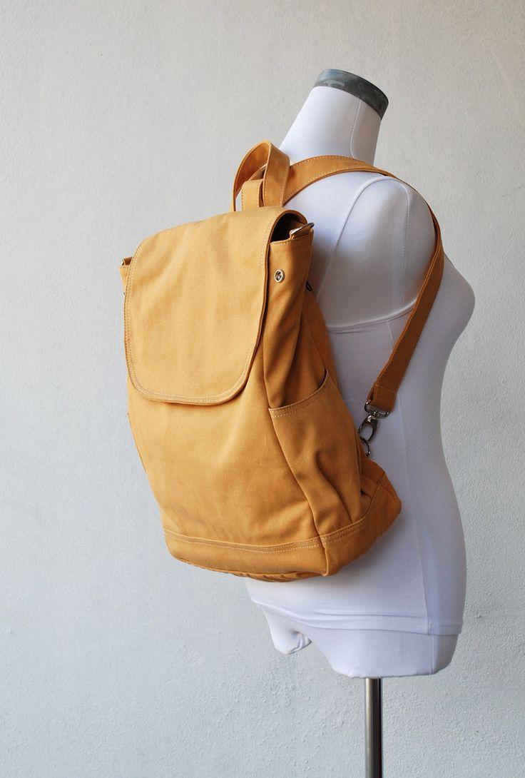 fortuner backpack convertible in mustard water resistant laptop shoulder bag diaper bag. Black Bedroom Furniture Sets. Home Design Ideas