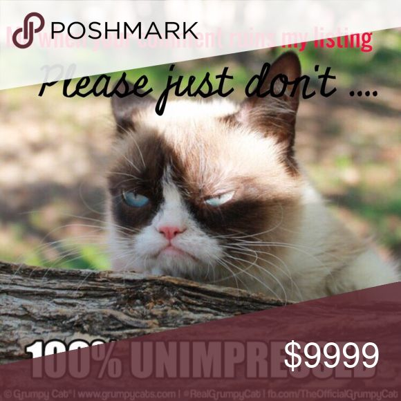 Please don't make me grumpy We cannot delete comments, so please think before you type... If you don't like a price, make an offer or move on. If you don't have anything nice to say, don't say it at all! Happy Poshing 💞💞💞 Makeup