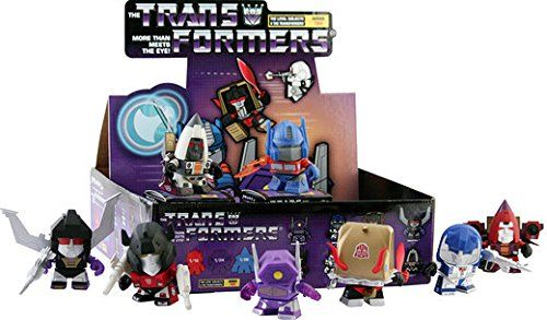 The Loyal Subjects Action Vinyl's Transformers Wave 2 Action Figure Includes accessories and signature weapons. Blind boxed, Foil Bagged with a Collector's Card. 8 points of articulation.