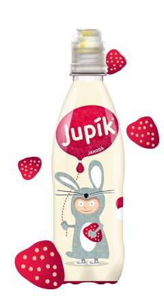 Strawberry flavour nonalcoholic drink - Jupik