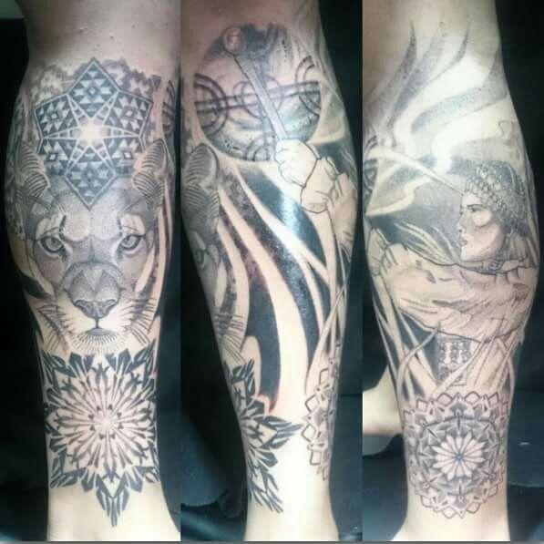Tattoo orígenes mapuche