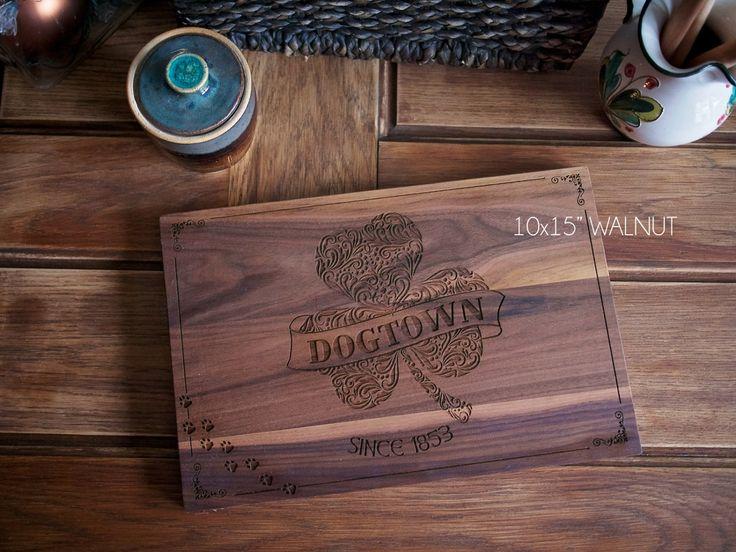 Engraved Wedding Gifts Ireland : ... gift, wedding, housewarming gift, shamrock, irish gift by