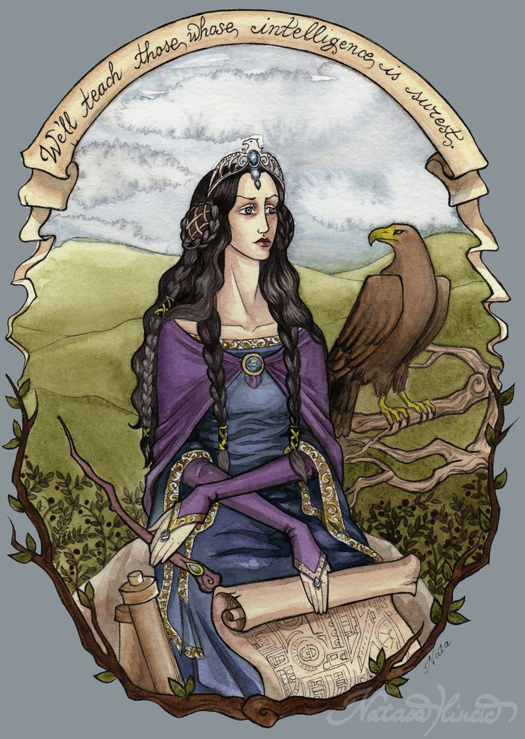 "Rowena Ravenclaw by UnripeHamadryad - The ""beautiful yet intimidating"" of the Founders of Hogwarts School of Witchcraft and Wizardry. Wisdom and skills can be seen from the fact that she designed the magical stairs in Hogwarts. The diadem is the only possession left from Rowena, and inscribed ""Wit beyond measure is man's greatest treasure"", which connects it to what she valued, wisdom. She was the most intelligent witch of her time. Her House values mind, wisdom, and creativity, in members."