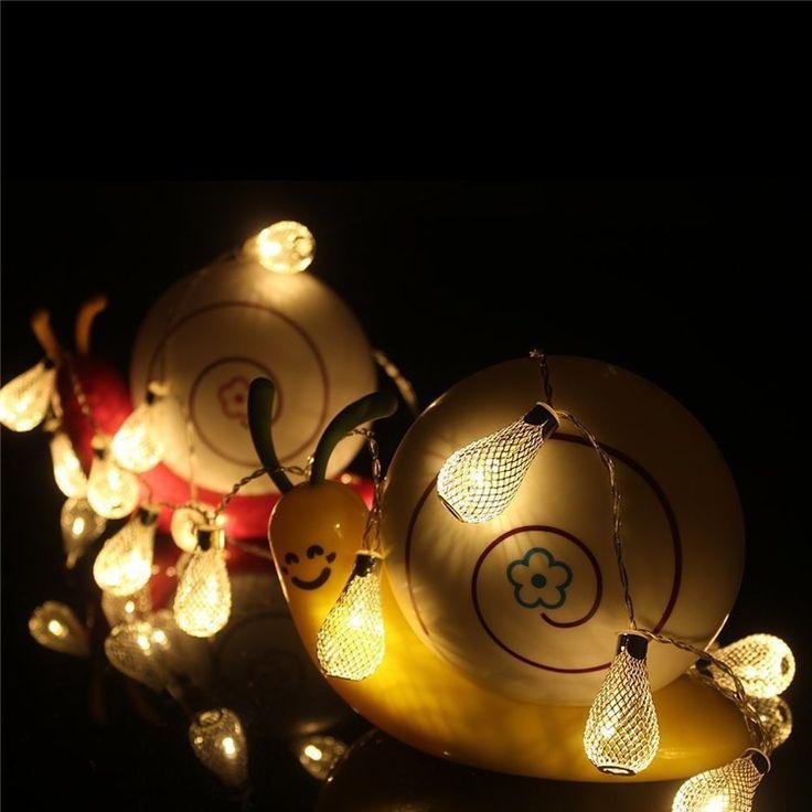 Из светодиодов фея лампы строку для романтических свадебная церемония елочные украшения, 4 м 10 м доступны, 4.5 В, 220 В купить на AliExpress
