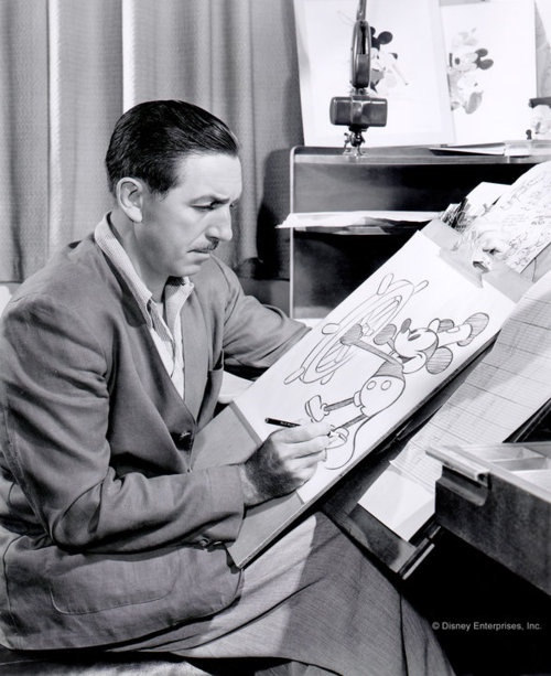 Walt Disney... He is one of my most favorite people in the world!