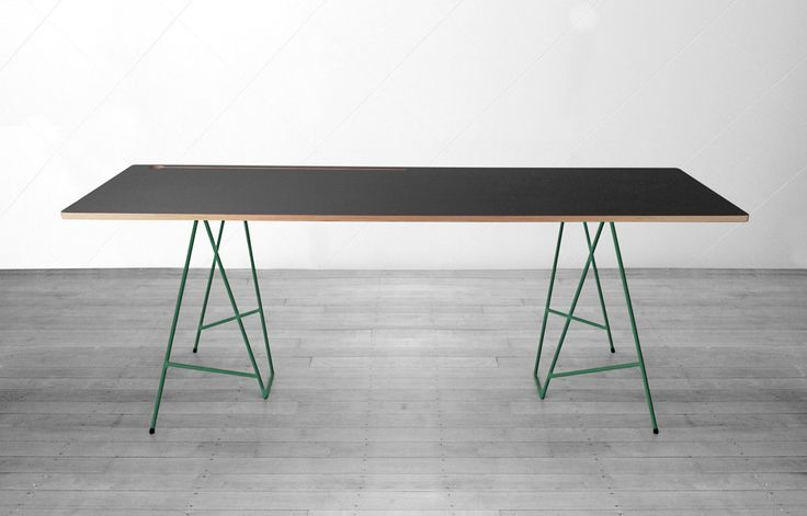 Angle Trestle Desk