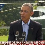 Obama gives Americans one last slap in the face before heading to vacation