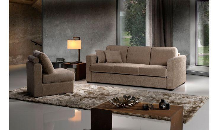 Ce canap lit d 39 angle de fabrication italienne permet un for Meilleur canape lit couchage quotidien