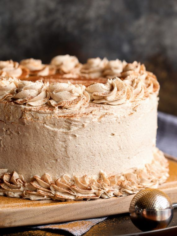 Cinnamon Roll Layer Cake