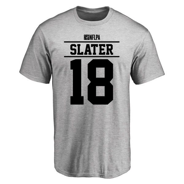 Matthew Slater Player Issued T-Shirt - Ash - $25.95