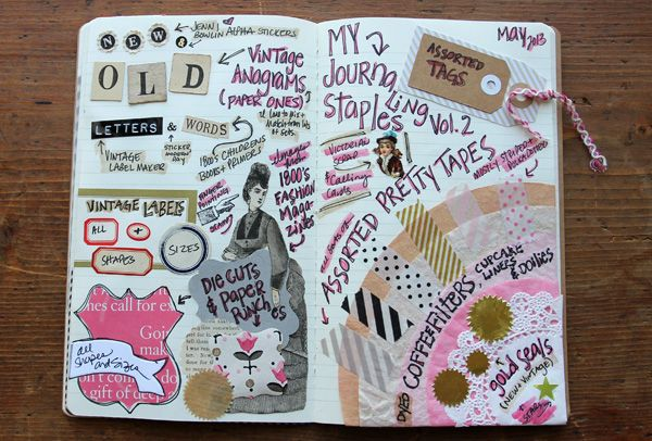 besottment by paper relics: My Journaling Staples: Volume 2