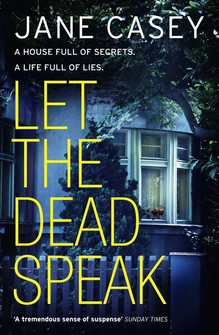 This is the chilling new crime novel from award-winning author, Jane Casey. When an 18-year-old girl returns home to find her house covered in blood and her mother missing, Detective Maeve Kerrigan and the murder squad must navigate a web of lies to discover the truth.