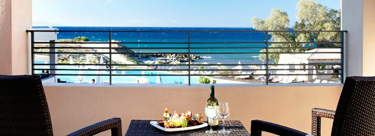 This could be your view in #Zakynthos ! Book now the #Deluxe #Sea #View room