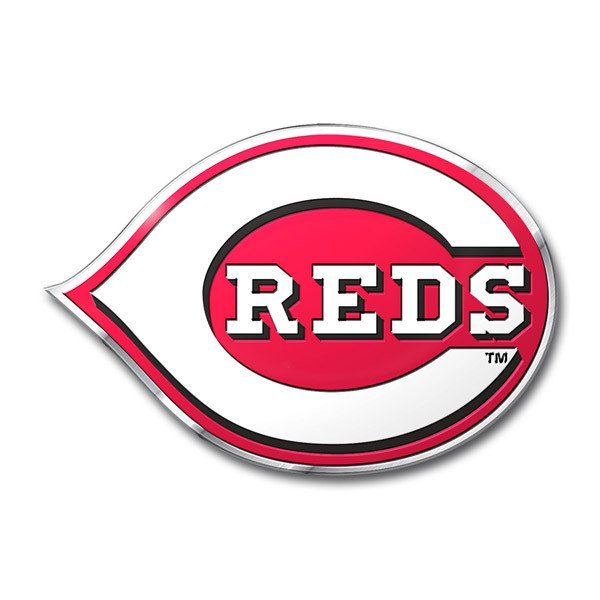 Cincinnati Reds Auto Emblem - Color