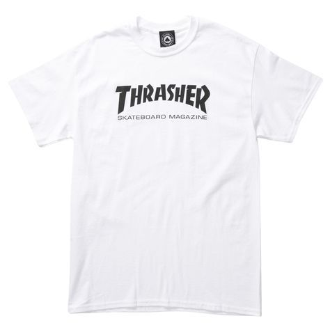 Thrasher Mag Logo T-shirt  for men features a logo screen-print on front, with…