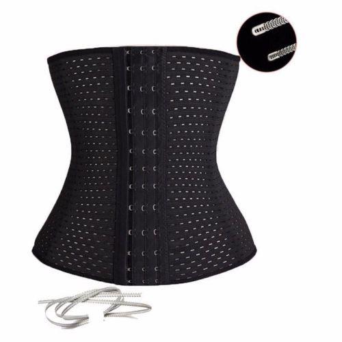 Corset-Waist-Training-Cincher-Control-Body-Shaper-Underbust-Sport-shapewear