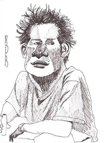Prince Harry by Jon Moss Caricature, via Flickr