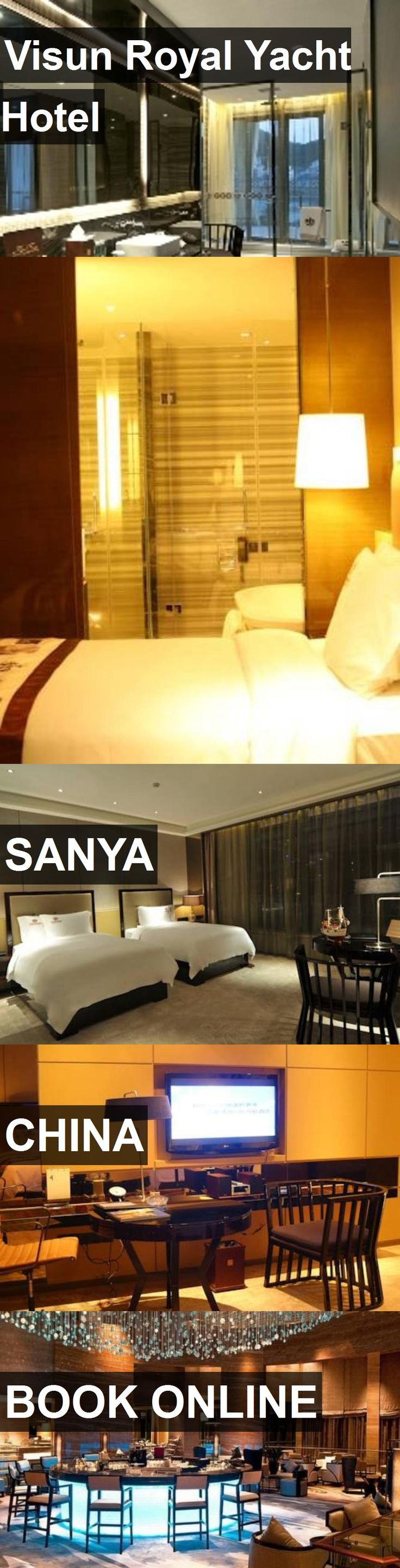 Hotel Visun Royal Yacht Hotel in Sanya, China. For more information, photos, reviews and best prices please follow the link. #China #Sanya #VisunRoyalYachtHotel #hotel #travel #vacation