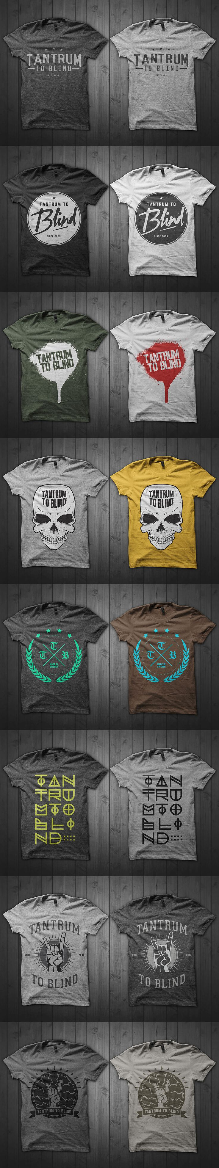 T shirt design using coreldraw - Customisable T Shirt Designs From Graphicriver