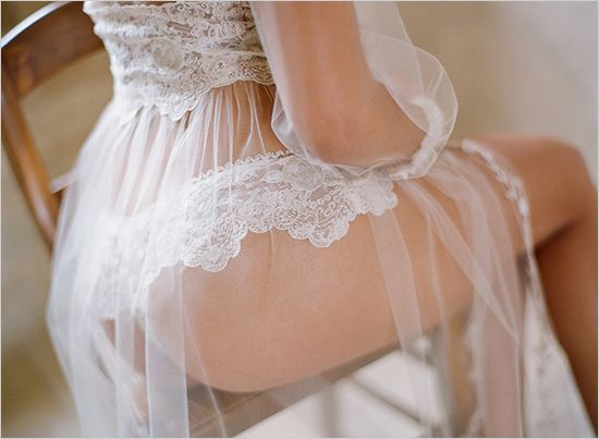 Specially for Him: Wedding Boudoir Photos