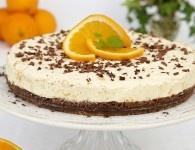 Apelsin Cheesecake - Hembakat