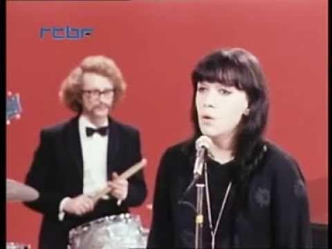 """Ewa Demarczyk Bruxelles 1969 """"Wiersze wojenne"""""""