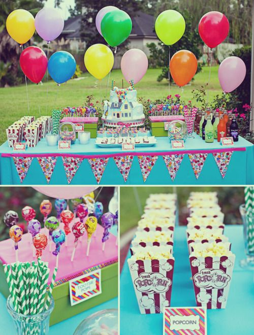 Party.: Theme Birthday Parties, Kids Parties, Up Parties, Theme Parties, Parties Ideas, Parties Theme, Up Theme, Desserts Tables, Birthday Ideas