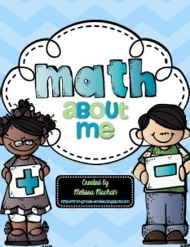 Math About Me {{Freebie}}  Grade Levels:1st, 2nd, 3rd This is a great craftivity to do for Back to School or to hang up for Open House. This is similar to an All About Me beginning of the year activity except now we're looking at how numbers are a part of our lives. Students will see how there are so many ways that Math can describe them.