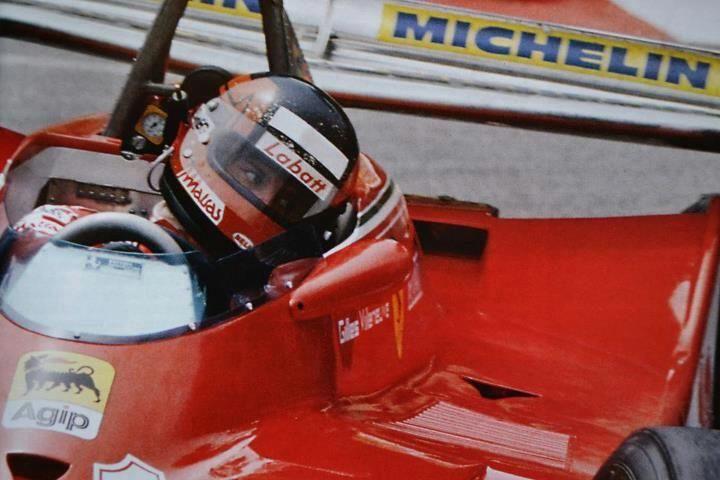 Gilles Villeneuve, Ferrari, #12, (RET-transmission) at Loews corner, Monaco GP, 1979.
