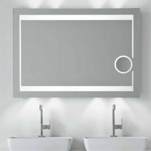 Specchio e specchiera bagno retroilluminato LED Bluetooth Mira - Vanità & Casa
