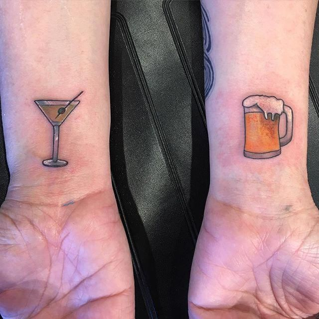 Pin for Later: 20 Geeky Tattoos You'll Be Dying to Get With Your Best Friend Emoji #smalltattoosforbestfriends