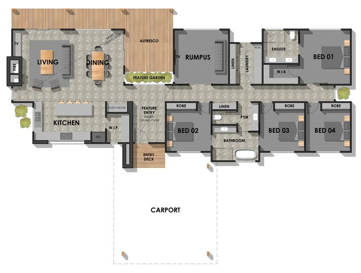 Acreage Custom Home Design by Pivot Homes