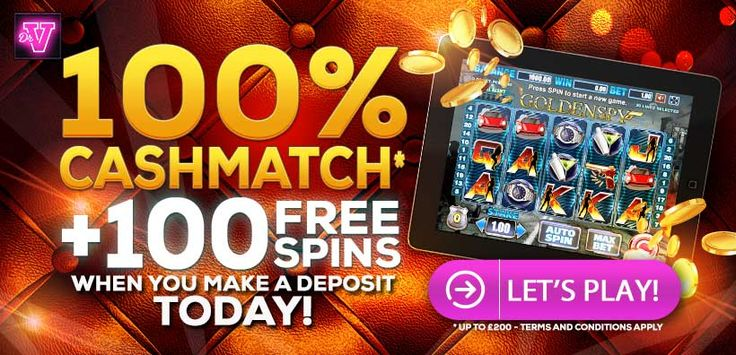 100% CashMatch + 100  #FREESPINS  when you make a deposit Today at Dr Vegas Casino #OnlineCasino    #HereToGamble
